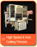 High Speed & Kiss Cutting Presses